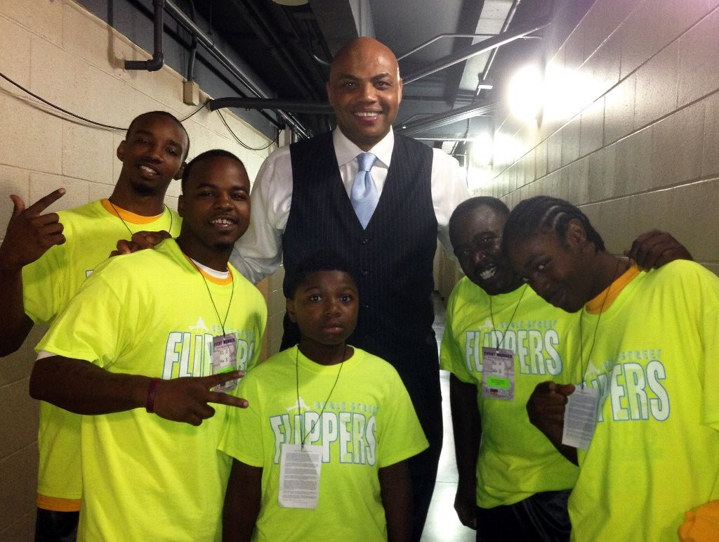 The Beale Street Flippers with Charles Barkley