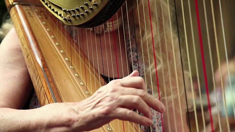 Frances Phillips Memphis harpist