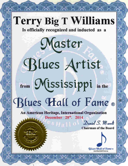 "Terry ""Big T"" Williams"