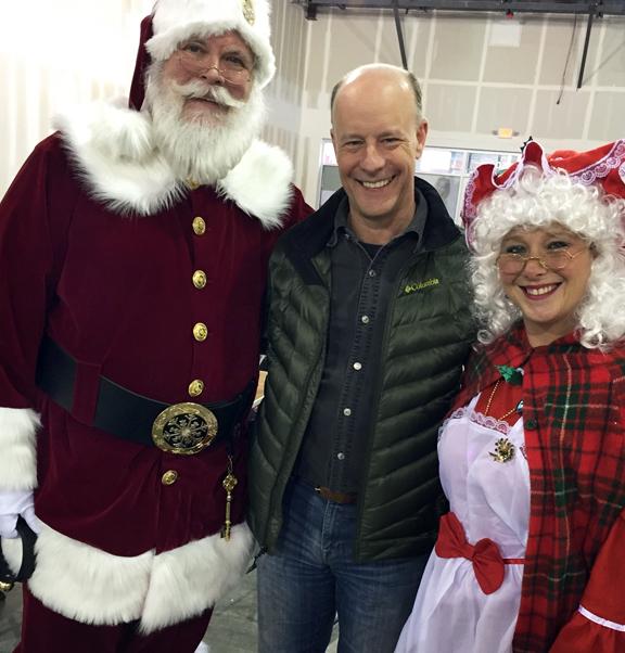 Santa and Rollin